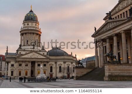Church in Berlin seen at dusk Stock photo © benkrut
