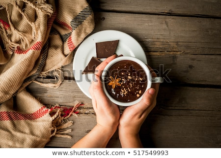女性 飲料 ホットドリンク 食品 楽しい ストックフォト © IS2