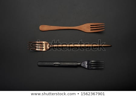 Three long plastic spoons Stock photo © Digifoodstock