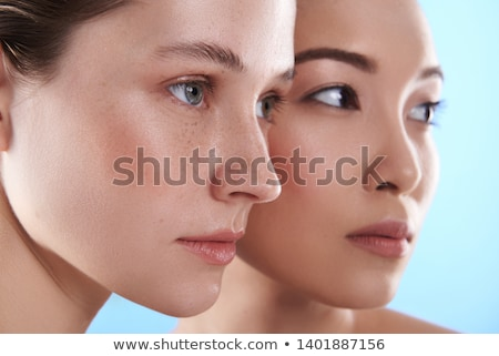asian beautiful attractive woman posing isolated indoors stock photo © deandrobot