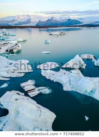 Арктика пейзаж природы путешествия люди Сток-фото © Maridav