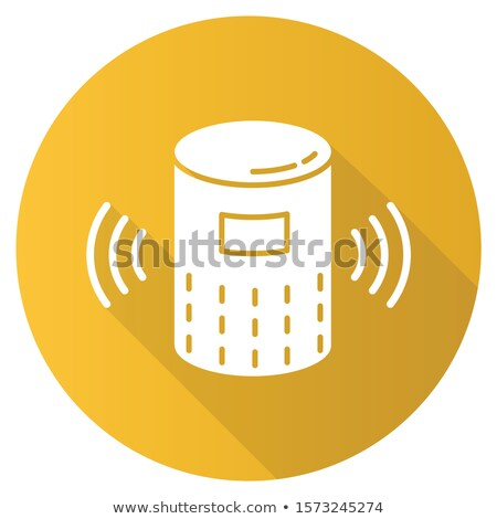 Wireless Speaker Digital Gadget Color Vector Stock photo © pikepicture