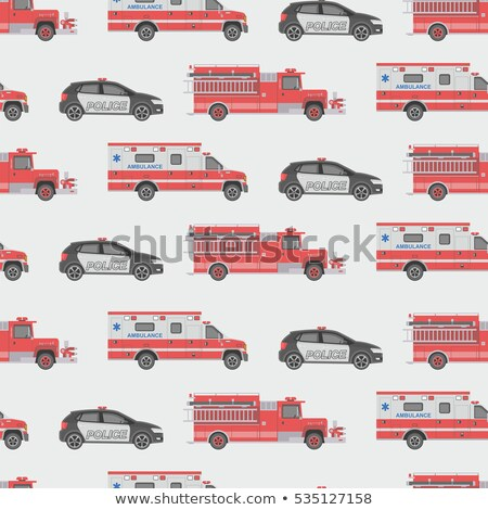 Police Department Seamless Pattern Vector Stock photo © pikepicture