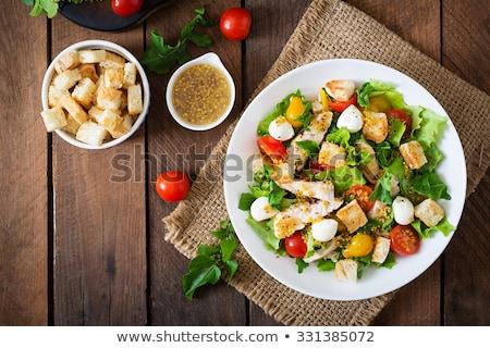 Cesar Salad Stock photo © Pheby