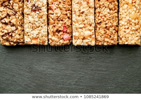 Csetepaté vegyes gluténmentes granola gabonapehely energia Stock fotó © dash