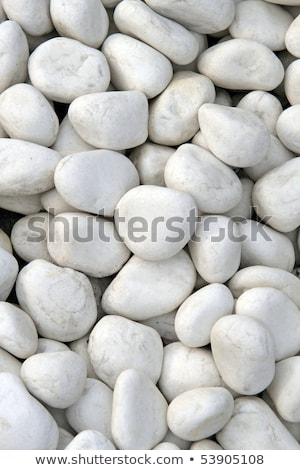 Grey stone pebbles as abstract background texture, landscape arc Stock photo © Anneleven