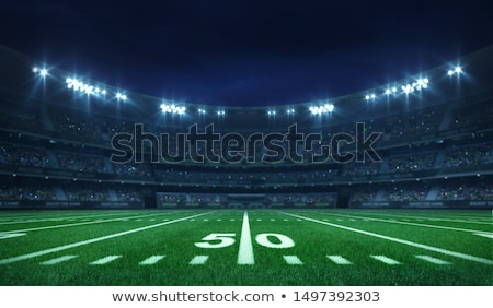 American Football Players, Gridiron Competition Stock photo © robuart