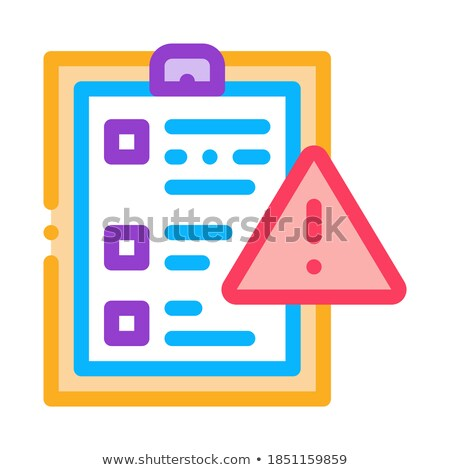court statement icon vector outline illustration Stock photo © pikepicture