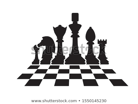 Black and white chessmen Stock photo © mayboro