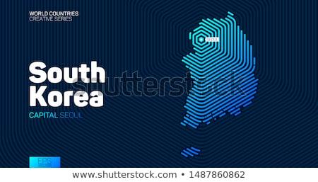 Obywatelstwo streszczenie kraju urodzenia paszport urząd celny Zdjęcia stock © RAStudio