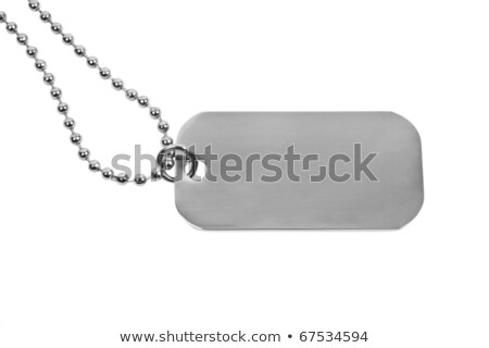 set of metal tags for sale stock photo © orson