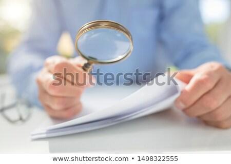 bizonyíték · rendőrség · nyomozó · dolgozik · női · bűnözés - stock fotó © lovleah