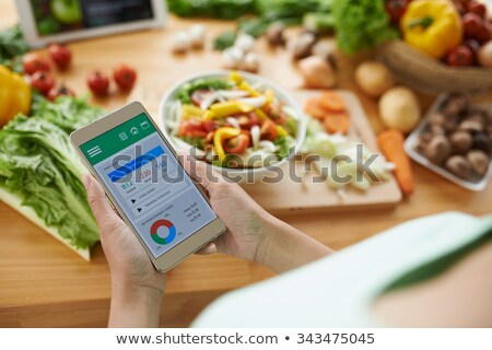 Stockfoto: Counting The Calories