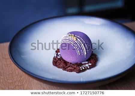 gourmet dessert Stock photo © M-studio