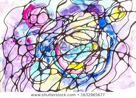 Rózsaszín vágy kép fektet sztriptíz táncos Stock fotó © dolgachov
