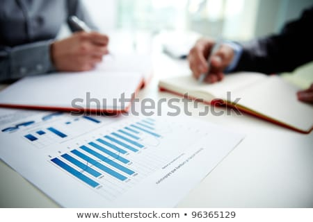 Pen And Business Graph Stock photo © Pressmaster