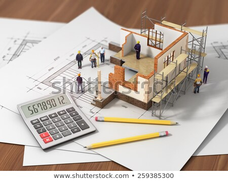 Home construction financing Stock photo © ShawnHempel