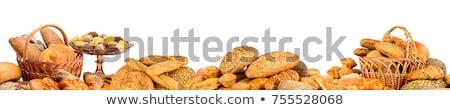 Bread Loafs Collage Stock photo © Serg64