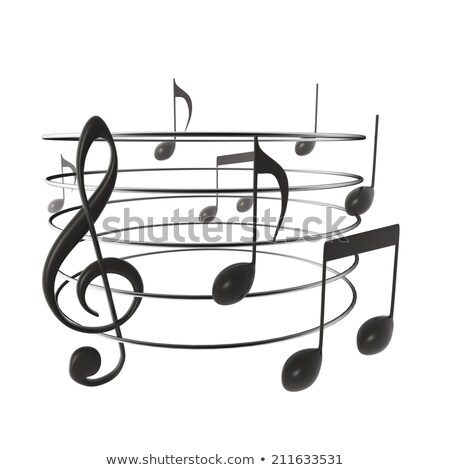 отмечает · торнадо · музыки · отмечает · бас · слушать · музыканта - Сток-фото © romvo