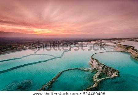 zwembad · Turkije · natuurlijke · fenomeen · water · schoonheid - stockfoto © wjarek