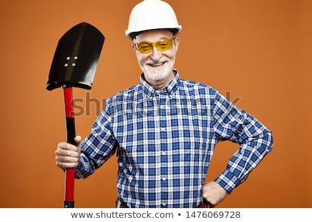 Portrait of a contractor against a white background Stock photo © wavebreak_media