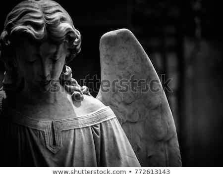 статуя ангела кладбище лице искусства путешествия Сток-фото © deymos