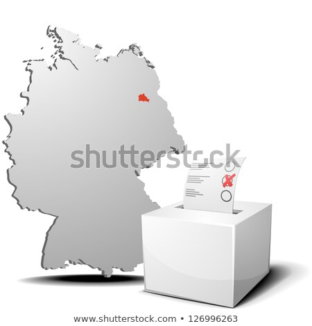 Ballot box Berlin Stock photo © Ustofre9