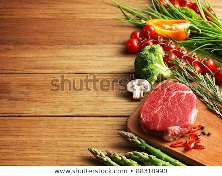 bloody on the cutting board Stock photo © inxti