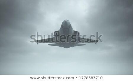 Harc repülőgép víz háború kék repülőgép Stock fotó © premiere