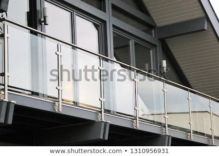 Wysoki ze stali nierdzewnej budowy projektu metal przemysłowych Zdjęcia stock © shawlinmohd