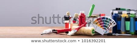 painting equipment stock photo © gemenacom