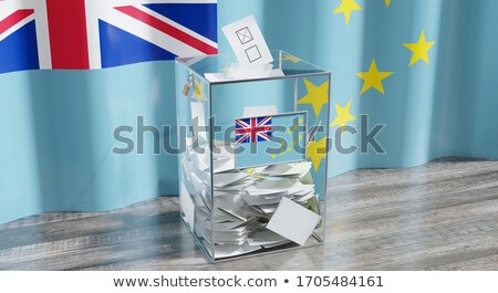 Ballot box Tuvalu Stock photo © Ustofre9
