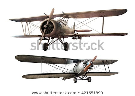 Old plane, isolated Stock photo © michaklootwijk