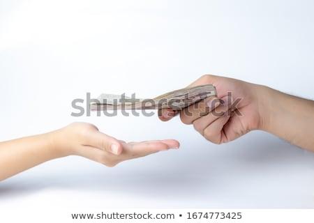Giving bribe Stock photo © smuki