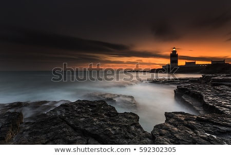 灯台 · フック · 頭 · アイルランド · 建物 · 光 - ストックフォト © phbcz