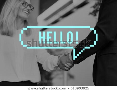女性実業家 同僚 会議 後ろ オフィス ストックフォト © wavebreak_media