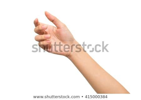 Woman hand grab Stock photo © fuzzbones0