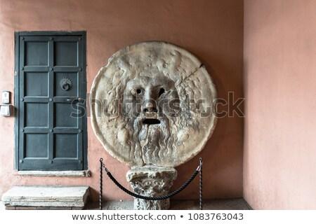 Bocca della Verita, The Mouth of Truth in Rome, Italy Stock photo © vladacanon
