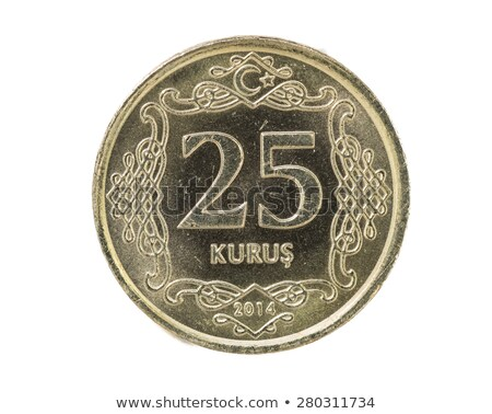 Turkish 25 Kurus Coin Stock photo © homydesign