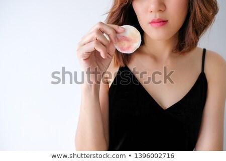 Asian portret mooie vrouw gezicht Stockfoto © FrameAngel