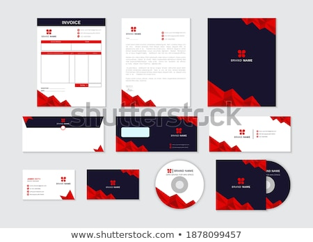 invoices concept folders in catalog stock photo © tashatuvango