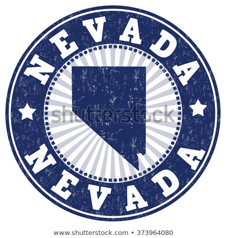Rubber Ink Stamp Nevada Stock photo © Bigalbaloo