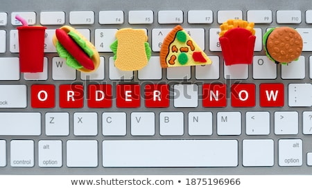 buy   written on red keyboard key stock photo © tashatuvango