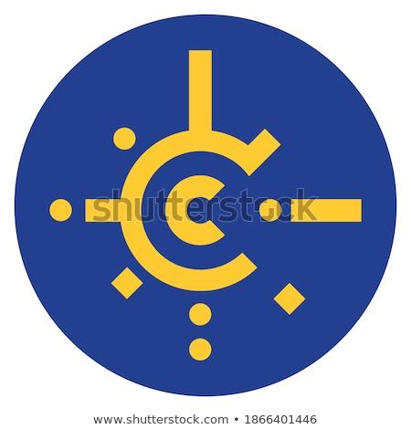 Banderą centralny europejski wolna handlu umowy Zdjęcia stock © Glasaigh