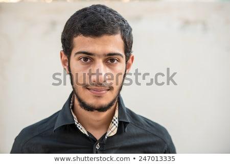 Portrait of Middle eastern man with children stock photo © zurijeta