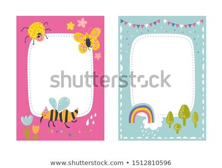 houten · bloemen · bloem · blad · oranje · foto - stockfoto © bluering