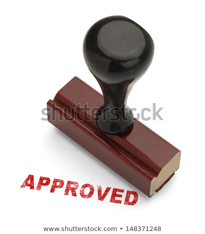 Perfect rubber stamp Stock photo © IMaster