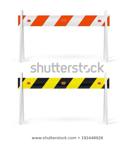 stop barrier 2 stock photo © oakozhan