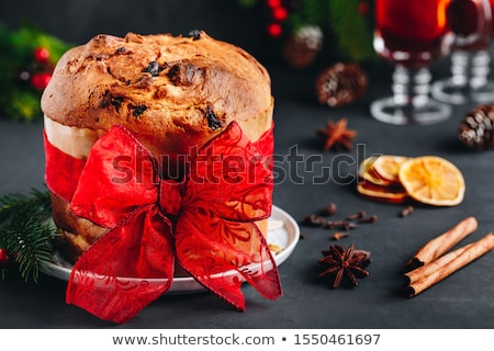 Homemade panettone Stock photo © Alex9500