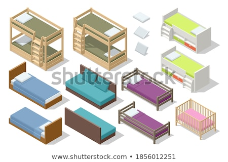Different types of toys on wooden shelf Stock photo © bluering